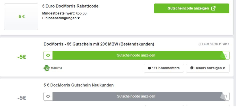 docmorris gutscheine bei mydealz.de
