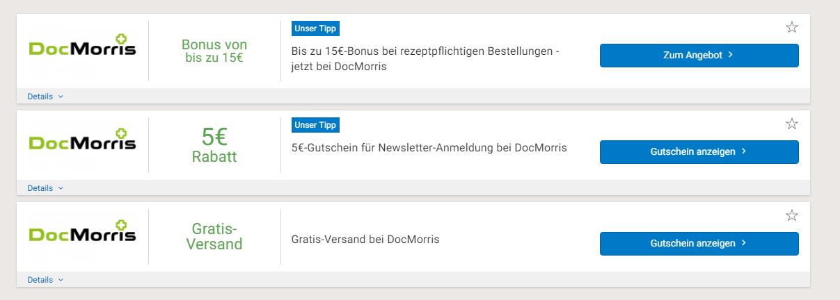 docmorris gutscheine bei sparwelt.de
