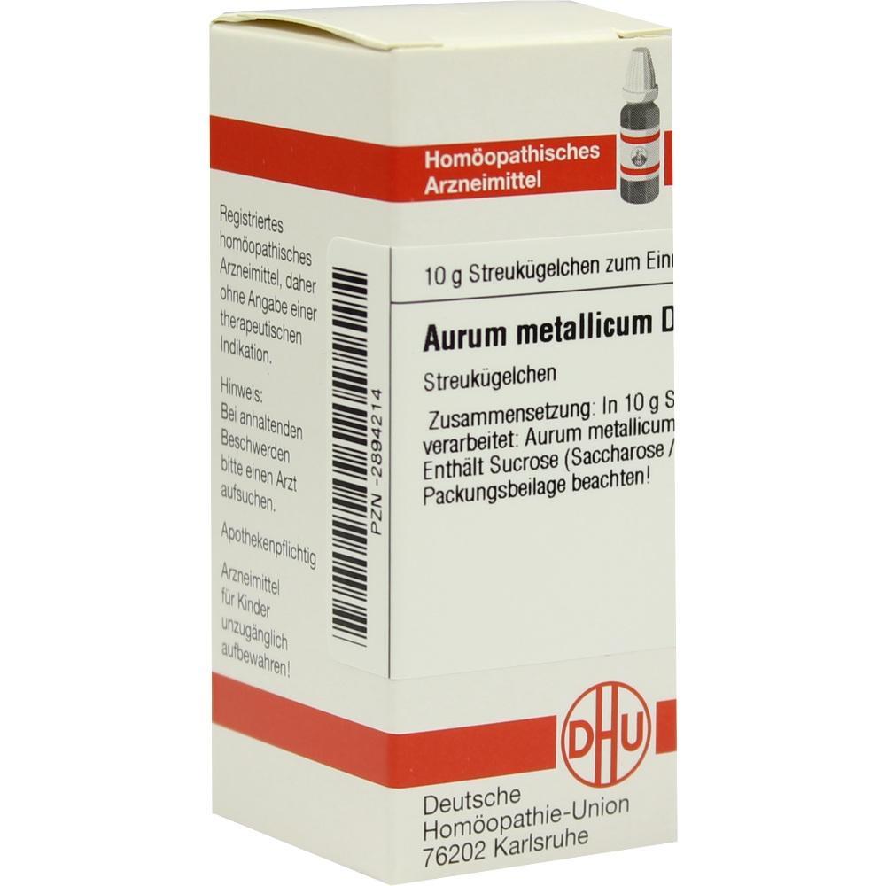 Aurum metallicum D12