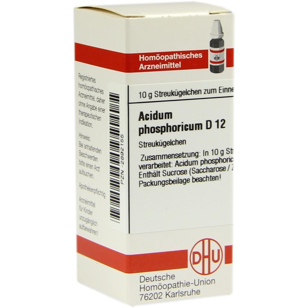 Acidum phosphoricum D12