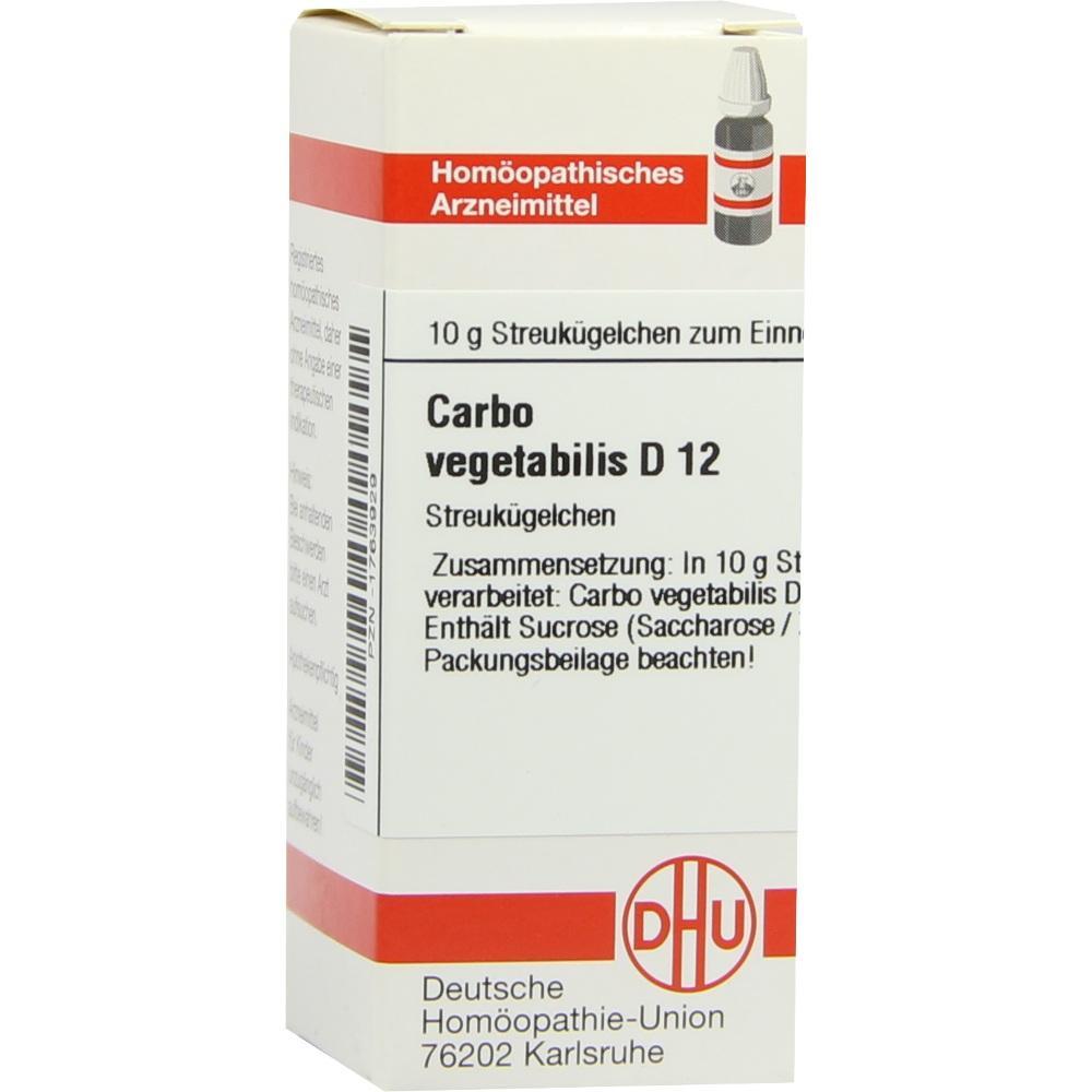 Holzkohle-carbo-vegetabilis